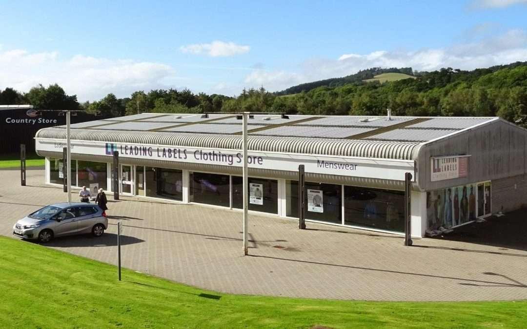 Selkirk Retail Park Dunsdalehaugh Selkirk TD7 5ED