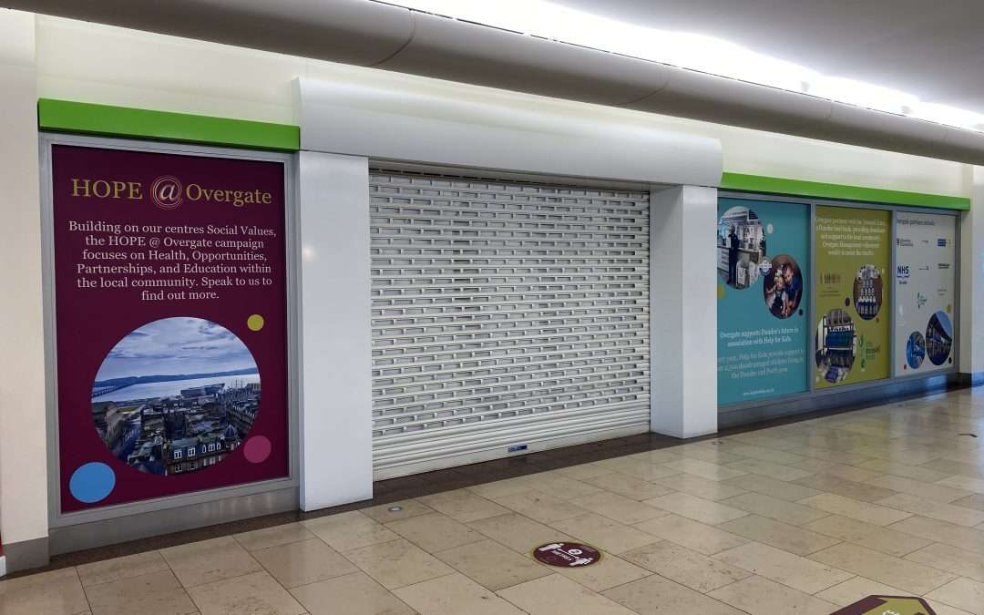 Upper Unit 20 Overgate Shopping Centre Dundee DD1 1UQ